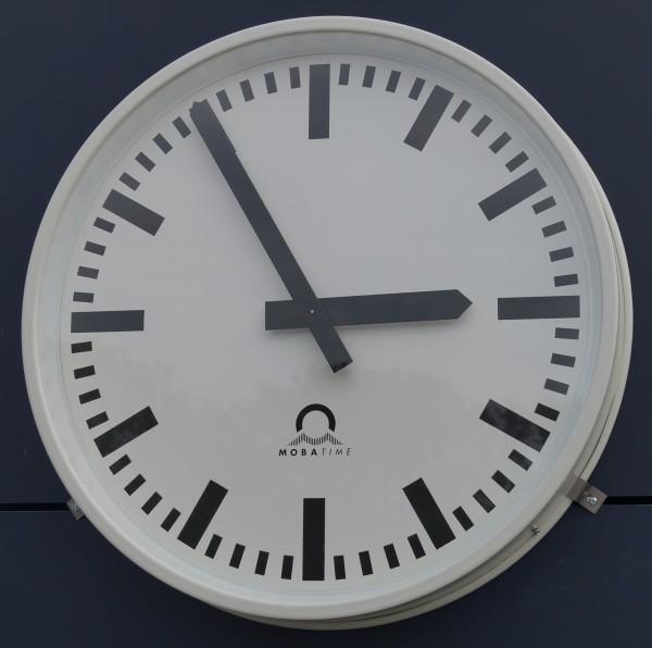 """Außen-Funkuhr FLEXLINE, rund 60 cm, ZB """"A"""""""